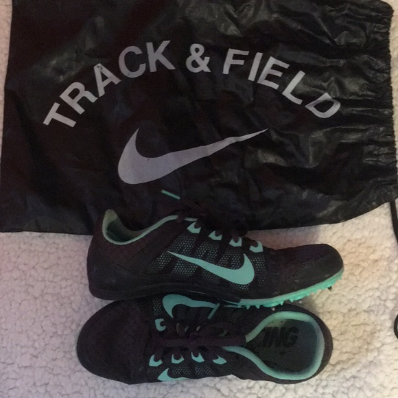 250d7dc6434f Teal NIKE MID DISTANCE indoor track spikes. M 5a57cbbdb7f72b2ede02af40